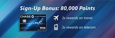 Chase Ink Business Preferred (80,000 Bonus Points)